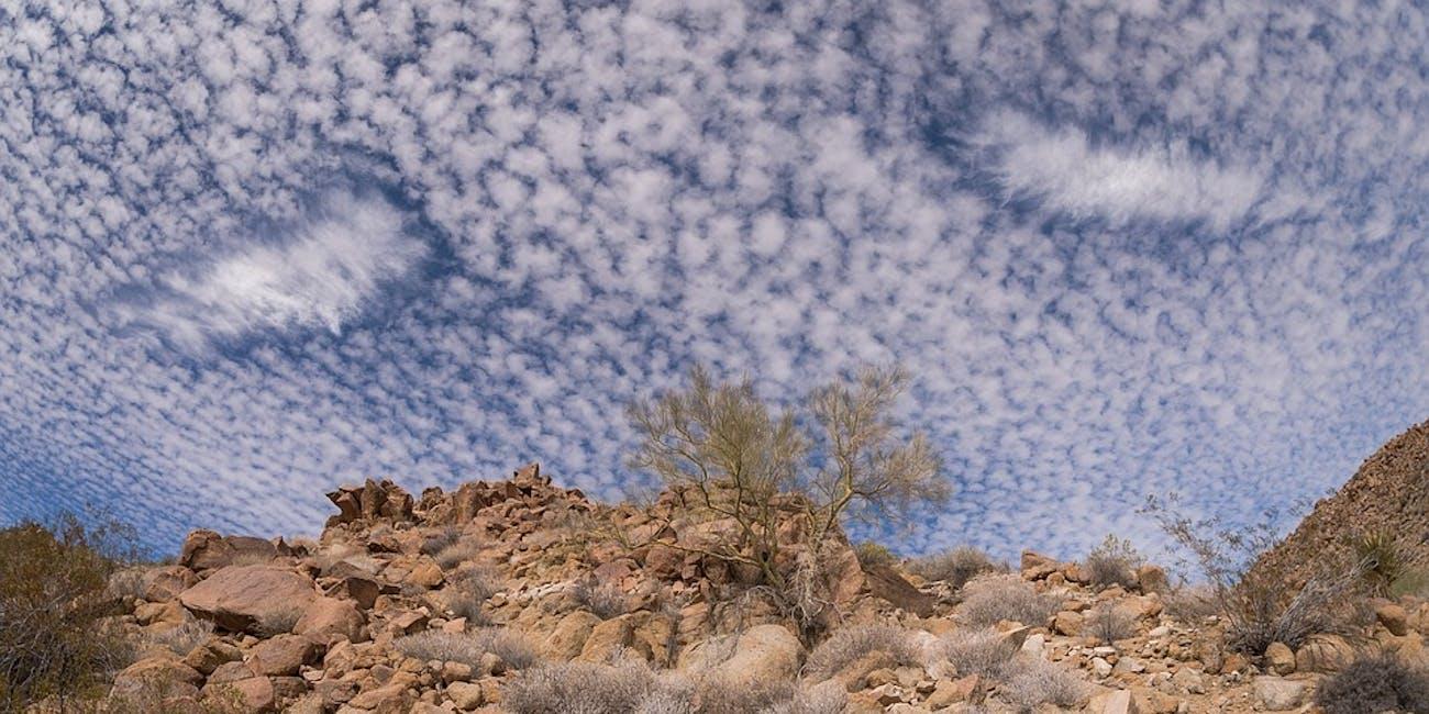 fallstreak holes clouds