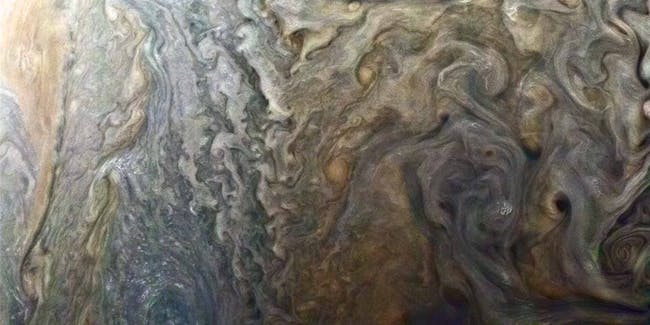 Stormy Spot on Jupiter NASA Juno