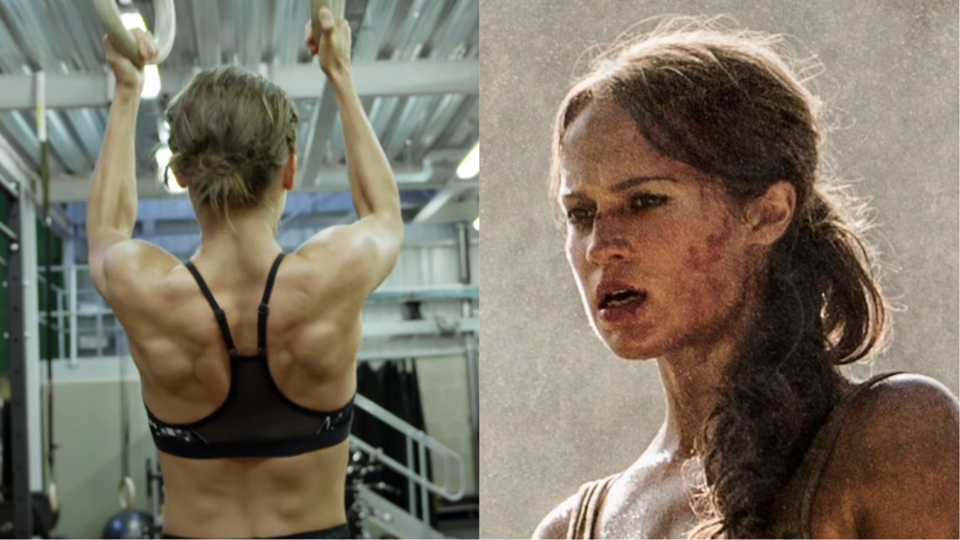 Watch Alicia Vikander's Intense Training for 'Tomb Raider' Reboot