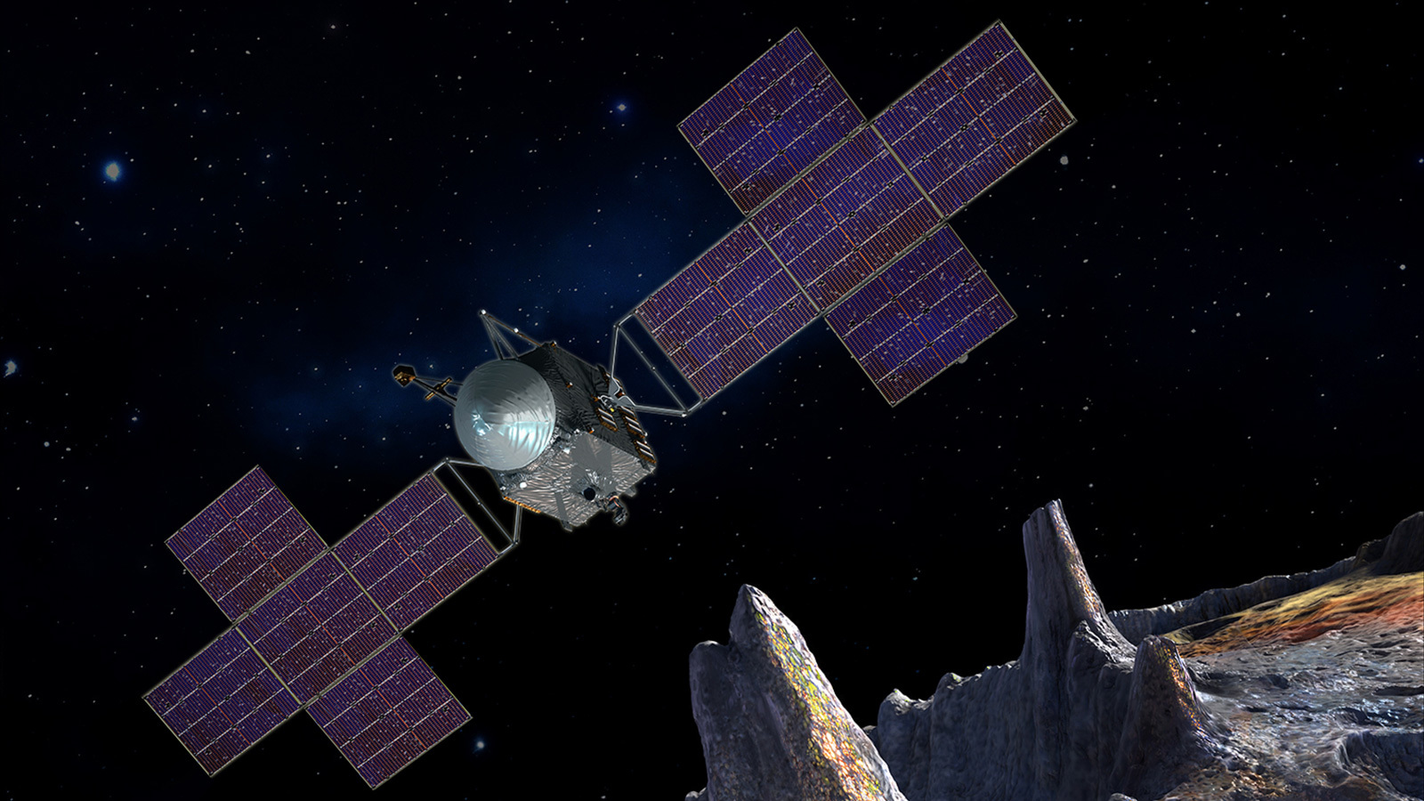 Psyche mission to reach metallic asteroid 4 years earlier
