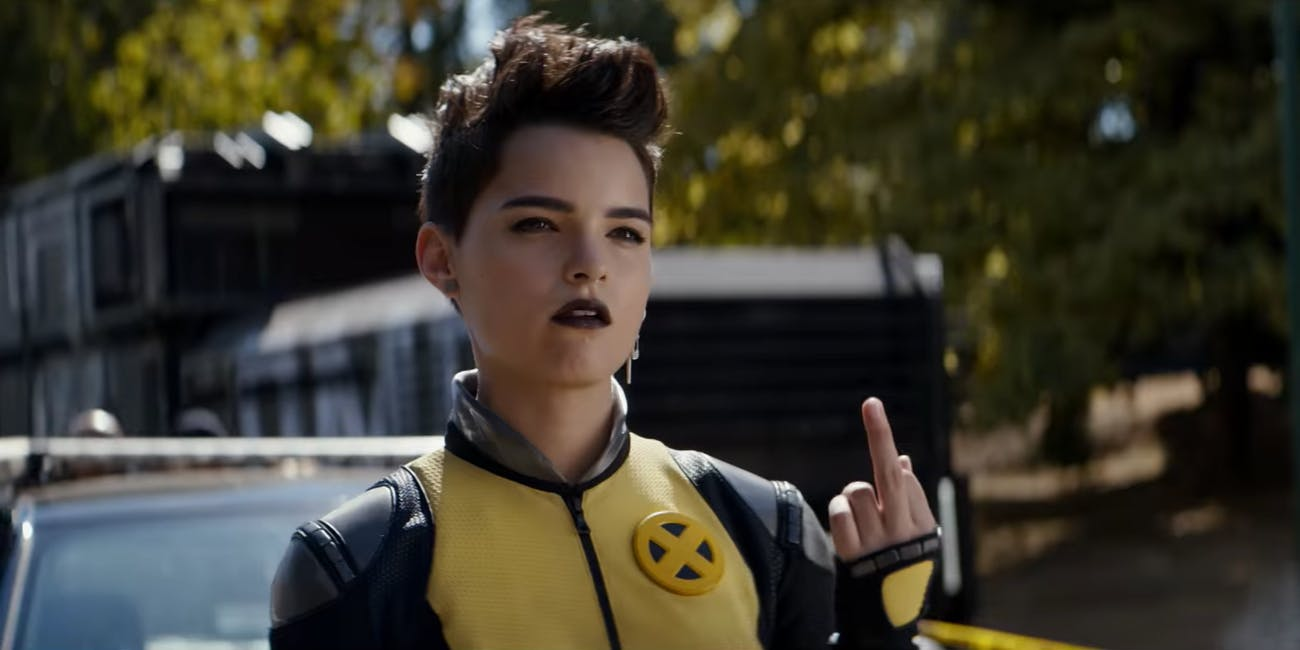 Negasonic Teenage Warhead Deadpool