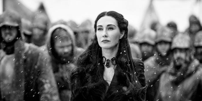 Carice Van Houten as Melisandre, aka The Red Woman, on 'Game of Thrones'
