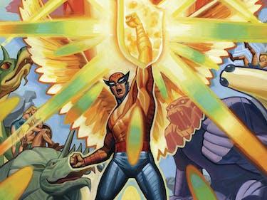 DC Comics' Birdman Fights F.E.A.R. in Exclusive 'Future Quest' Excerpt