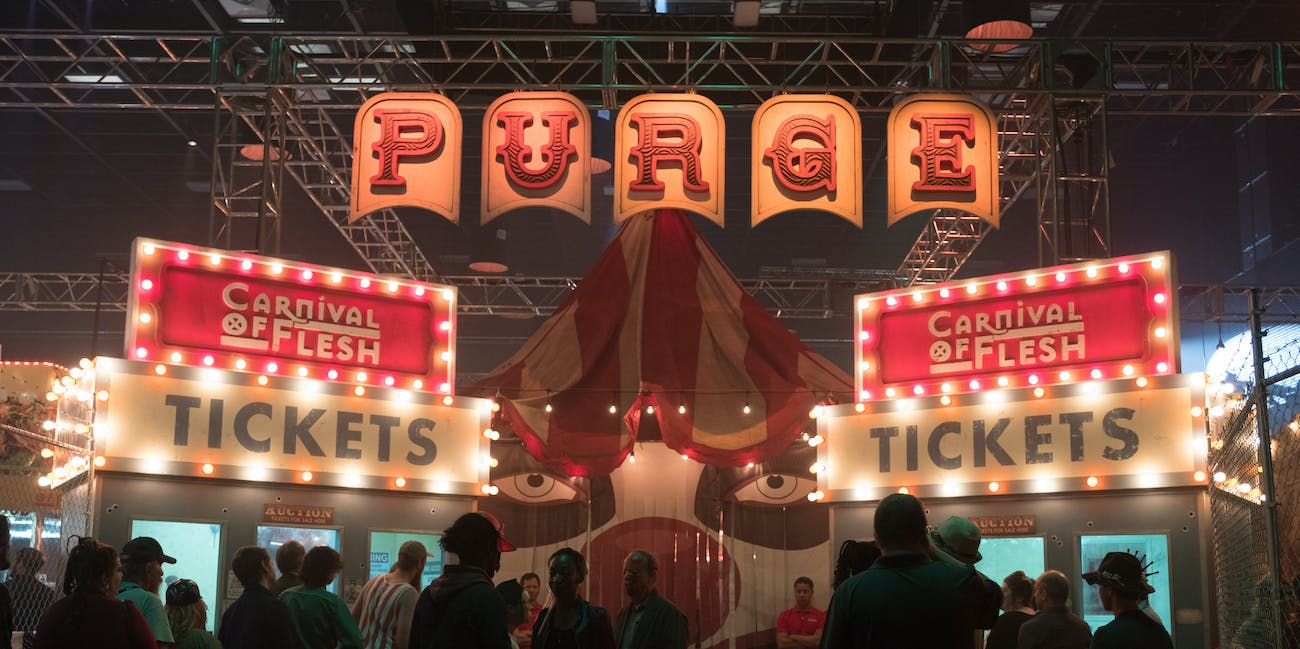 'The Purge' Carnival of Flesh
