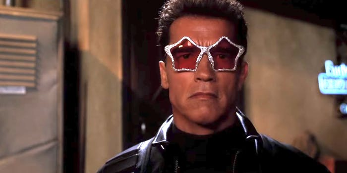 Arnold Schwarzenegger in 'Terminator 3: Rise of the Machines'.