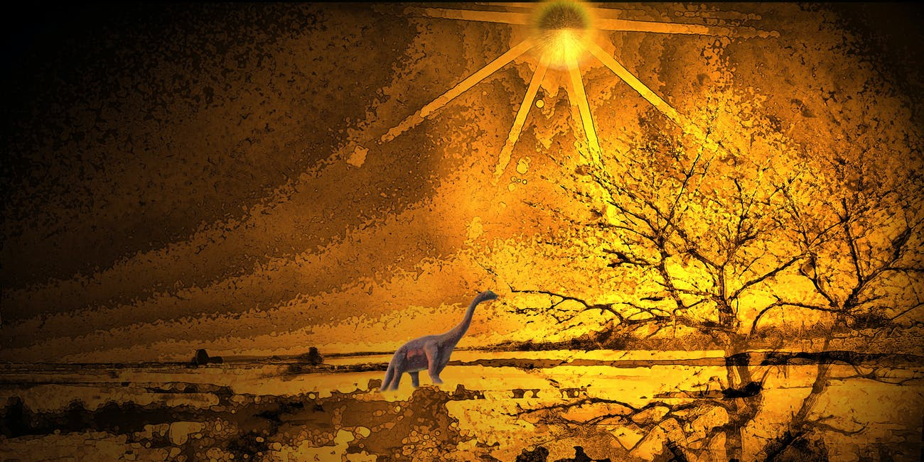 Extinct Prehistoric Photograph