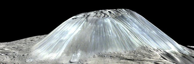 Ahuna Mons is the only ice volcano on Ceres, but researchers found that the volcano may not be the only one.