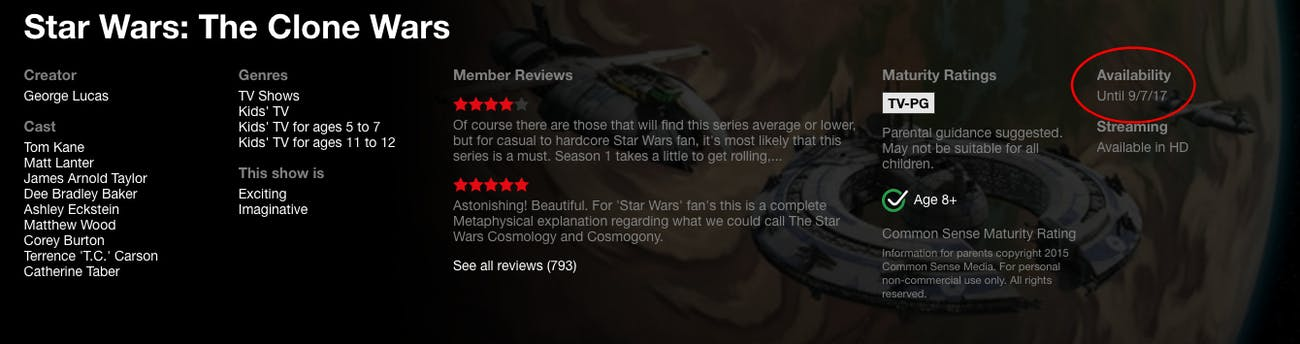 Here's When 'Star Wars: The Clone Wars' Will Leave Netflix | Inverse