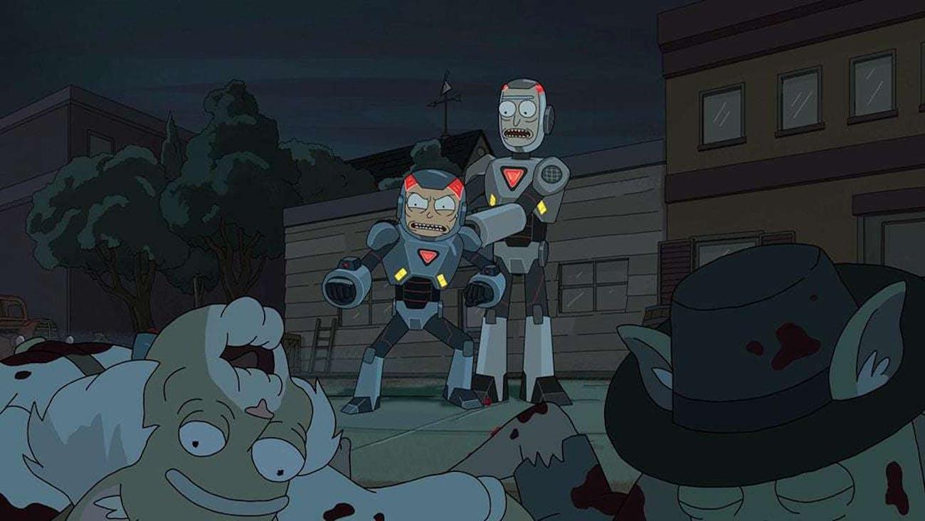 Morty's gotta purge.