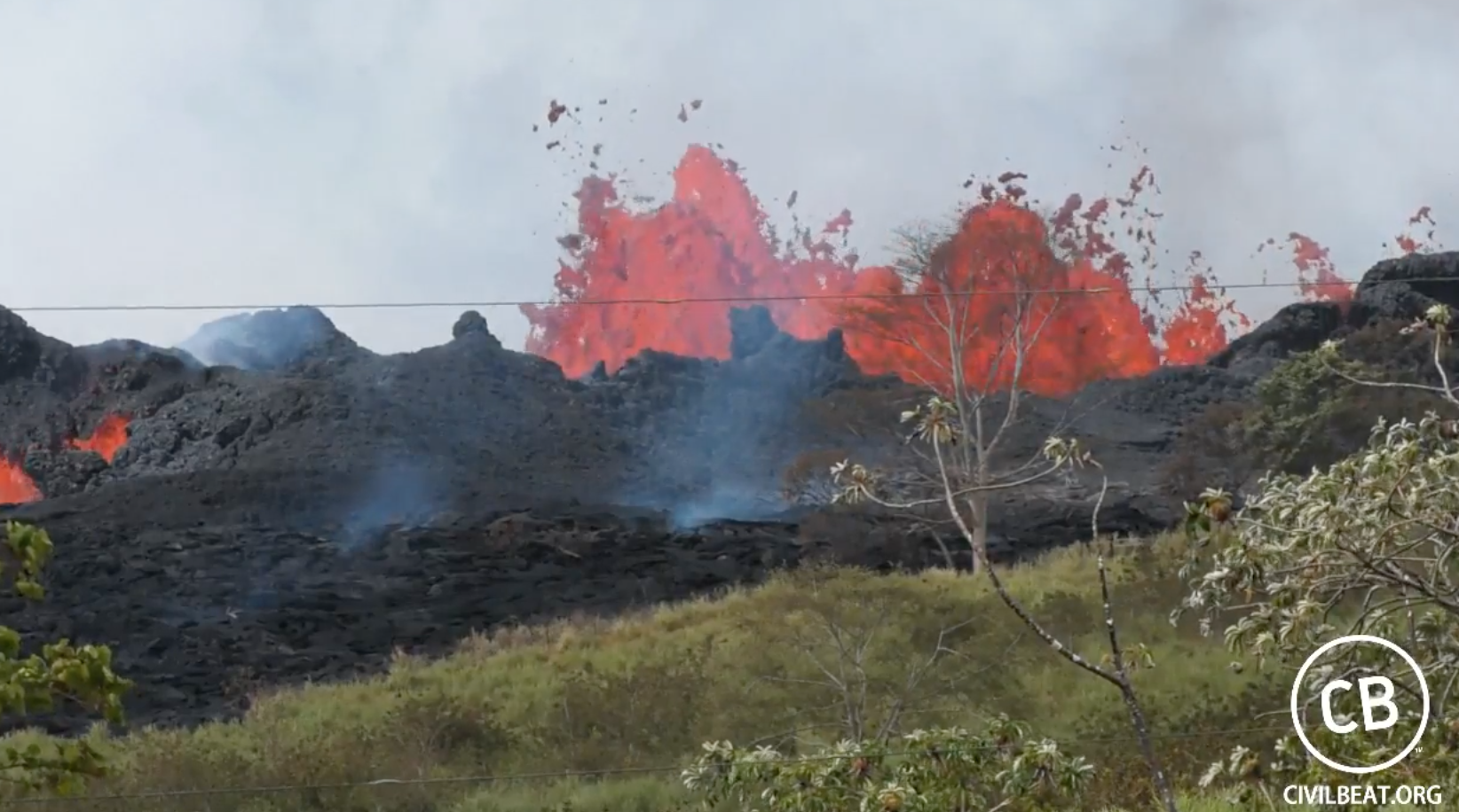 Hawaii Map Lava.Hawaii Volcano Kilauea New Usgs Maps Capture Lava Flows And Spread