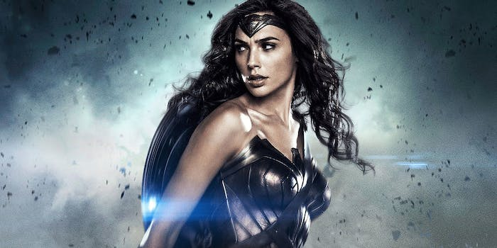 Gal Gadot as Wonder Woman in DC's Batman v Superman Dawn of Justice