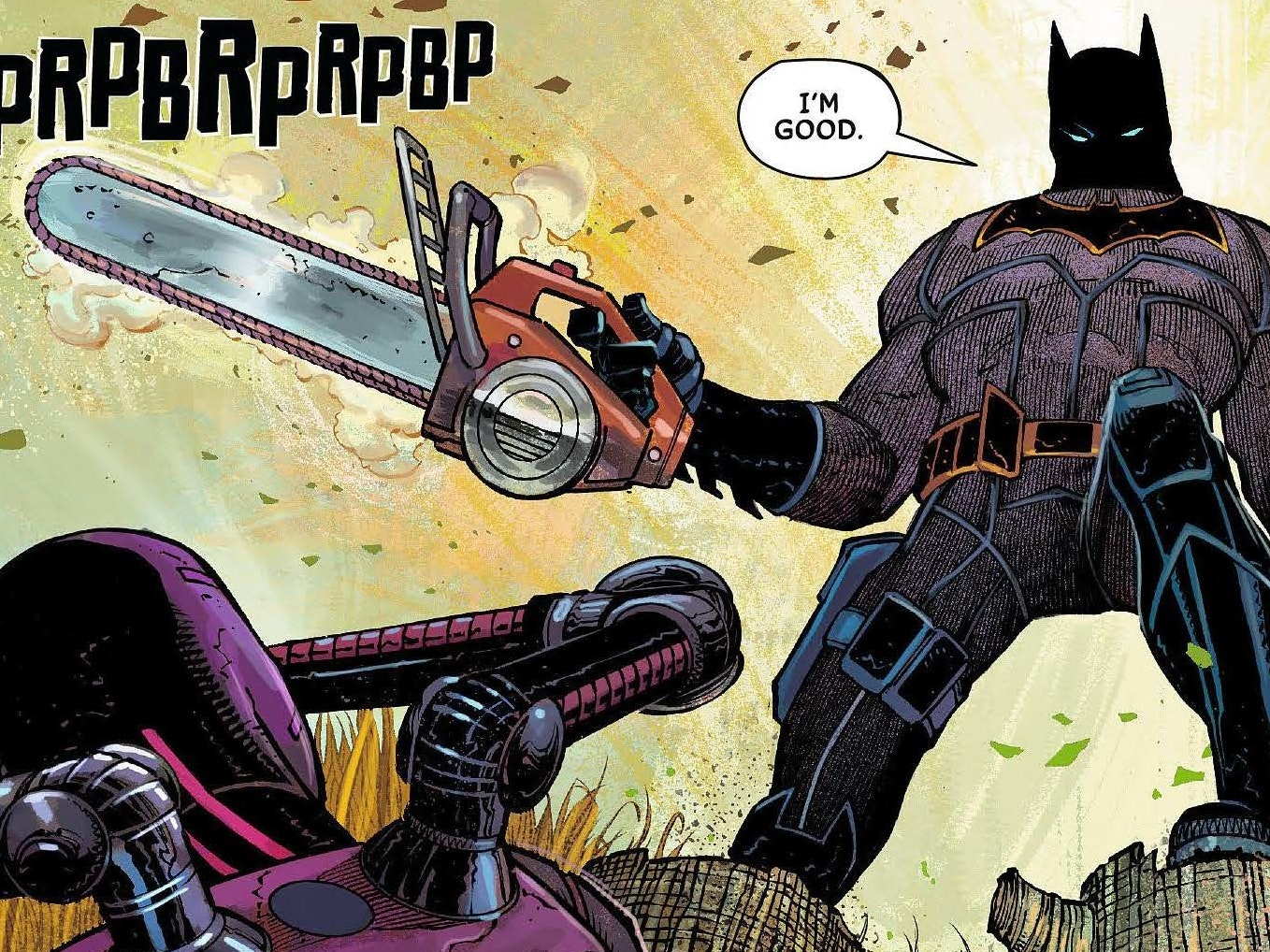 "In 'All-Star', Batman Has ""A Target on Him, Nowhere to Go"""