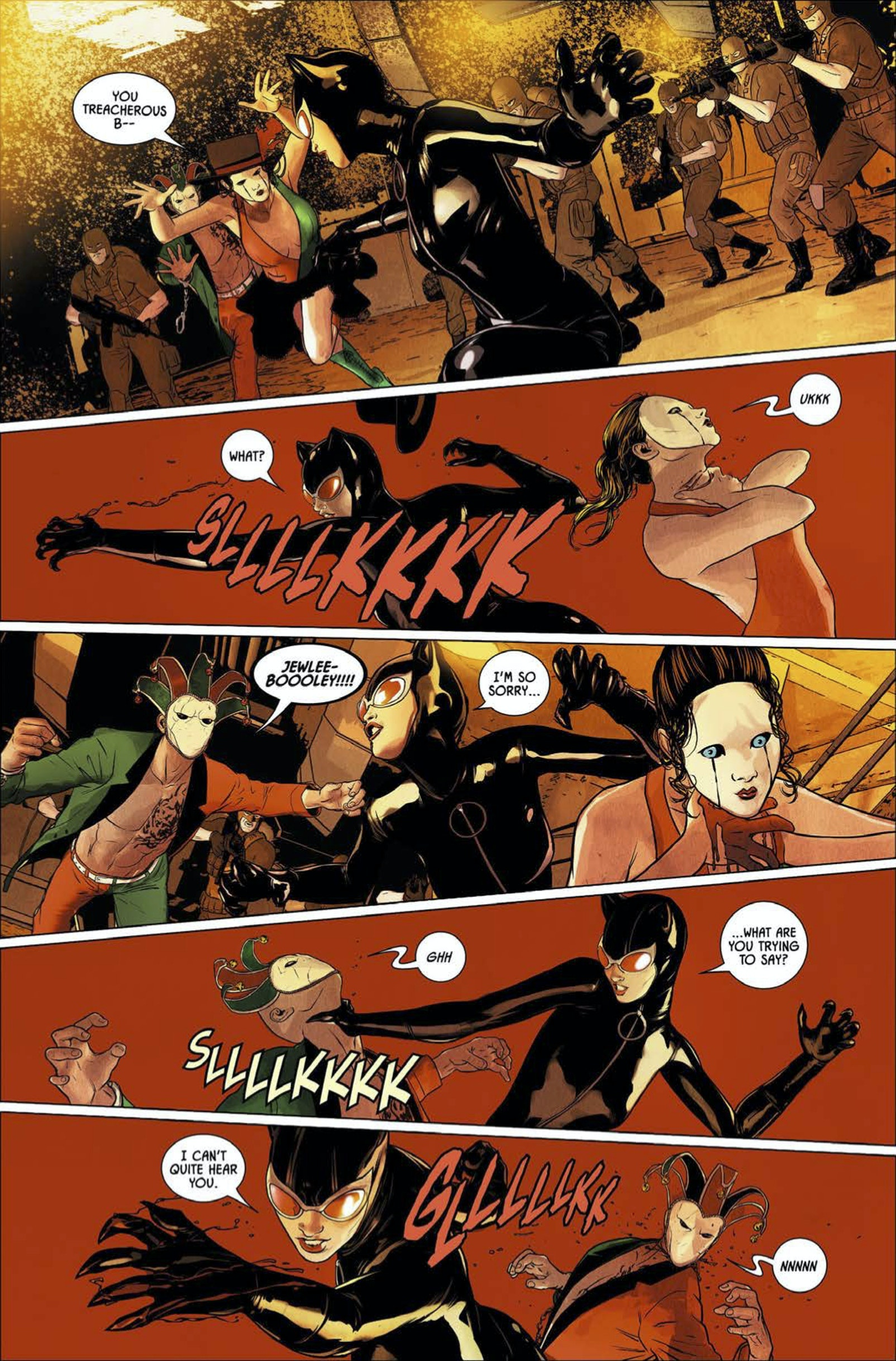 Batman Catwoman Suicide Squad