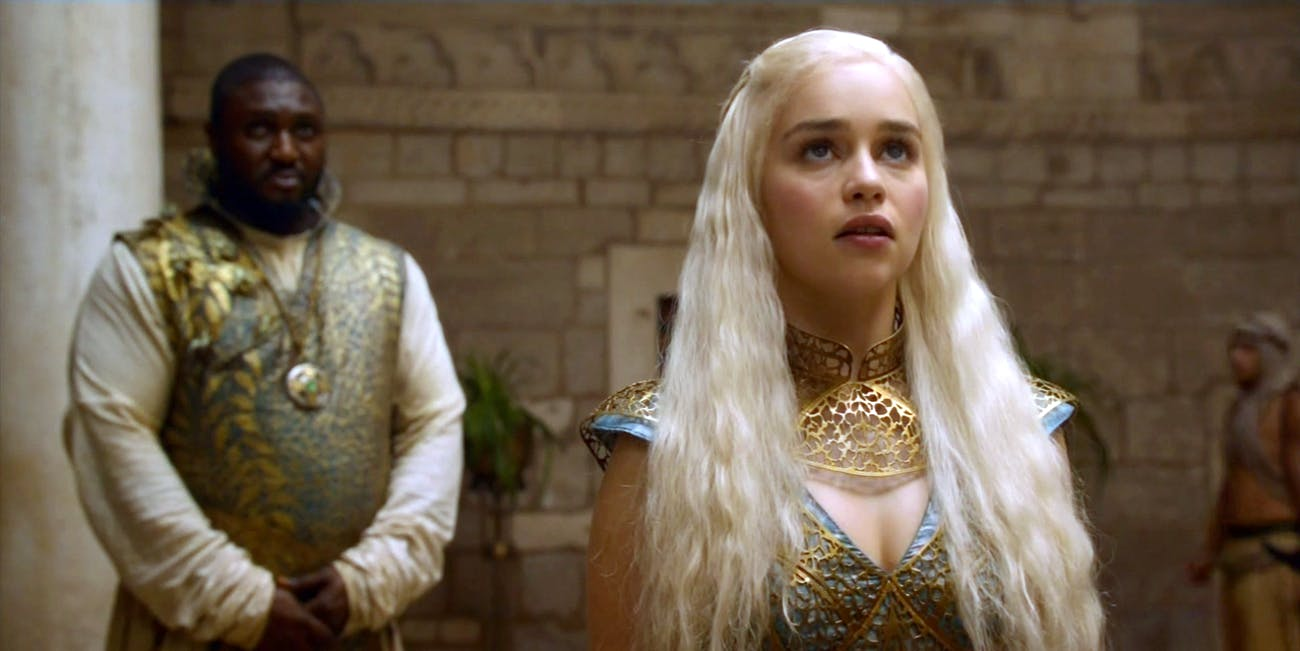 Daenerys in 'Game of Thrones' Season 2