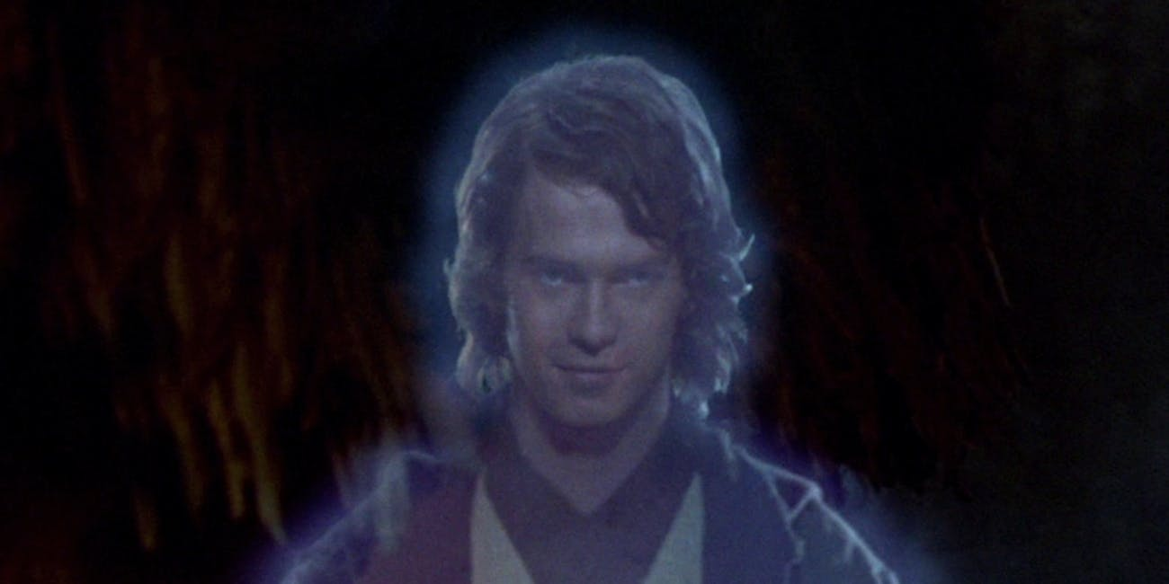 Wait, how did Anakin figure out how to become a Force ghost?
