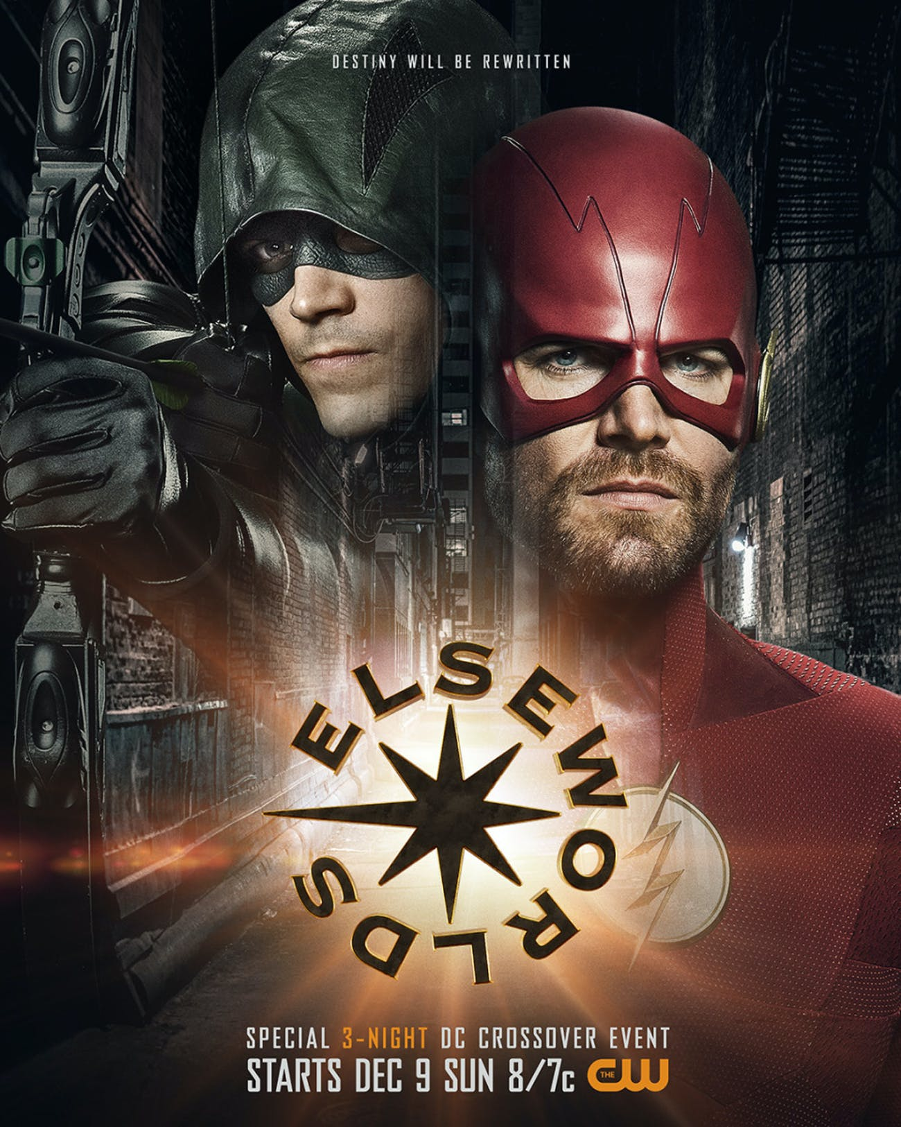 Arrowverse Elseworlds Flash Arrow
