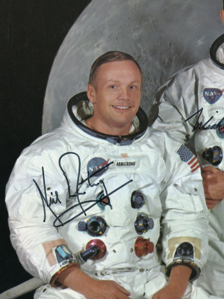 NASA Signatures and Neil Armstrong's Autograph Are Cheap ...