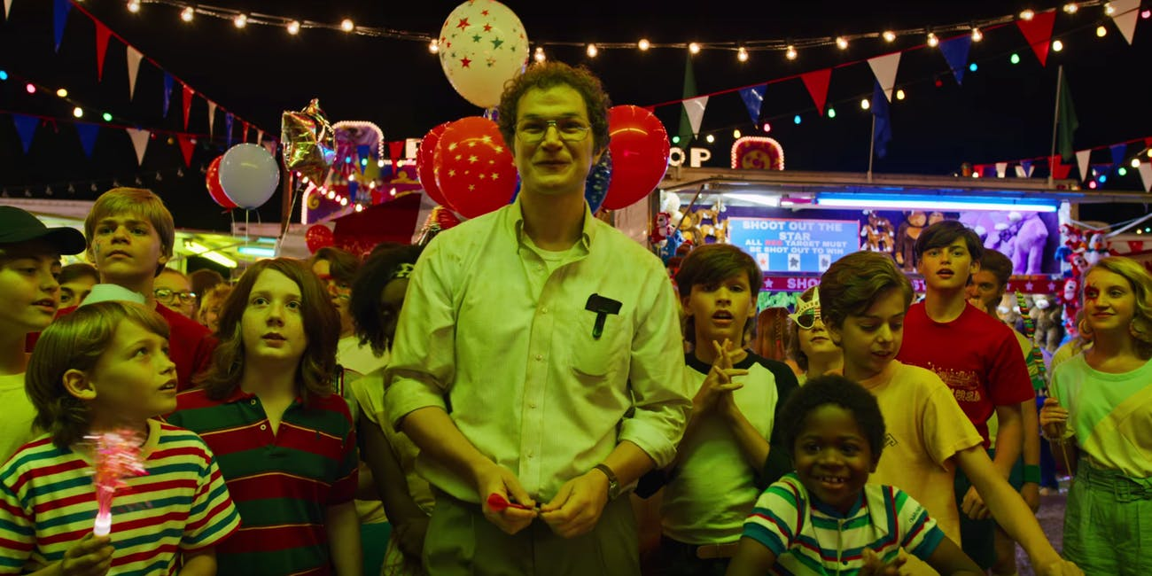 Alexei (Alec Utgoff) at the Hawkins Funfair in Stranger Things Season 3