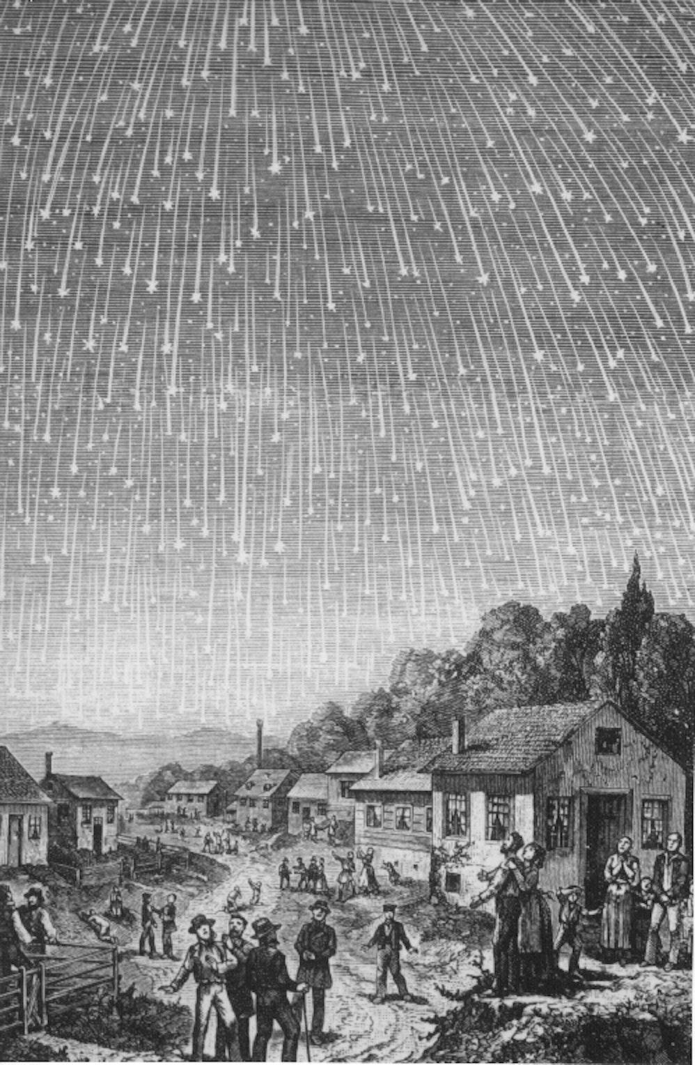 The night the stars fell.