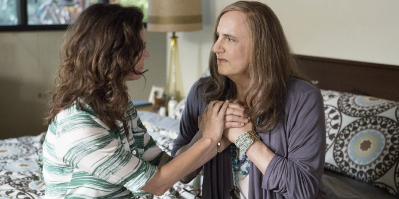"A scene from ""Transparent."""