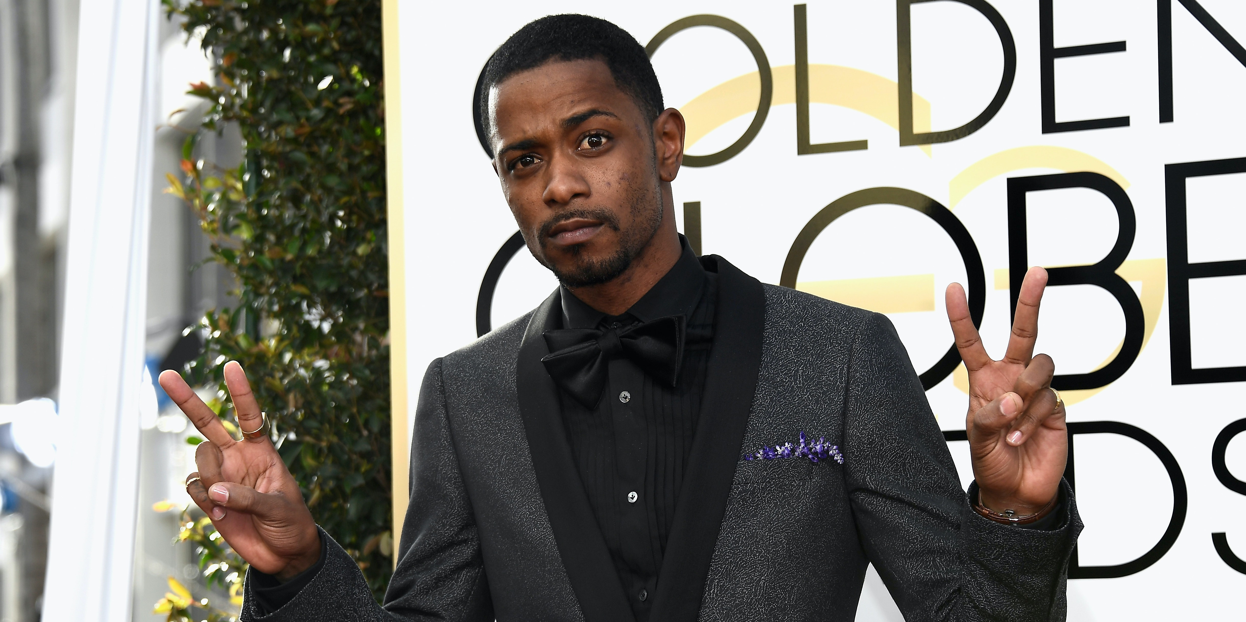BEVERLY HILLS, CA - JANUARY 08: Actor LaKeith  Stanfield attends the 74th Annual Golden Globe Awards at The Beverly Hilton Hotel on January 8, 2017 in Beverly Hills, California.  (Photo by Frazer Harrison/Getty Images)