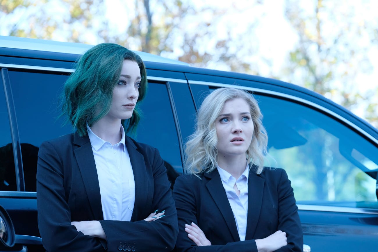 Polaris and, let's say, oh, Esme in 'The Gifted.'