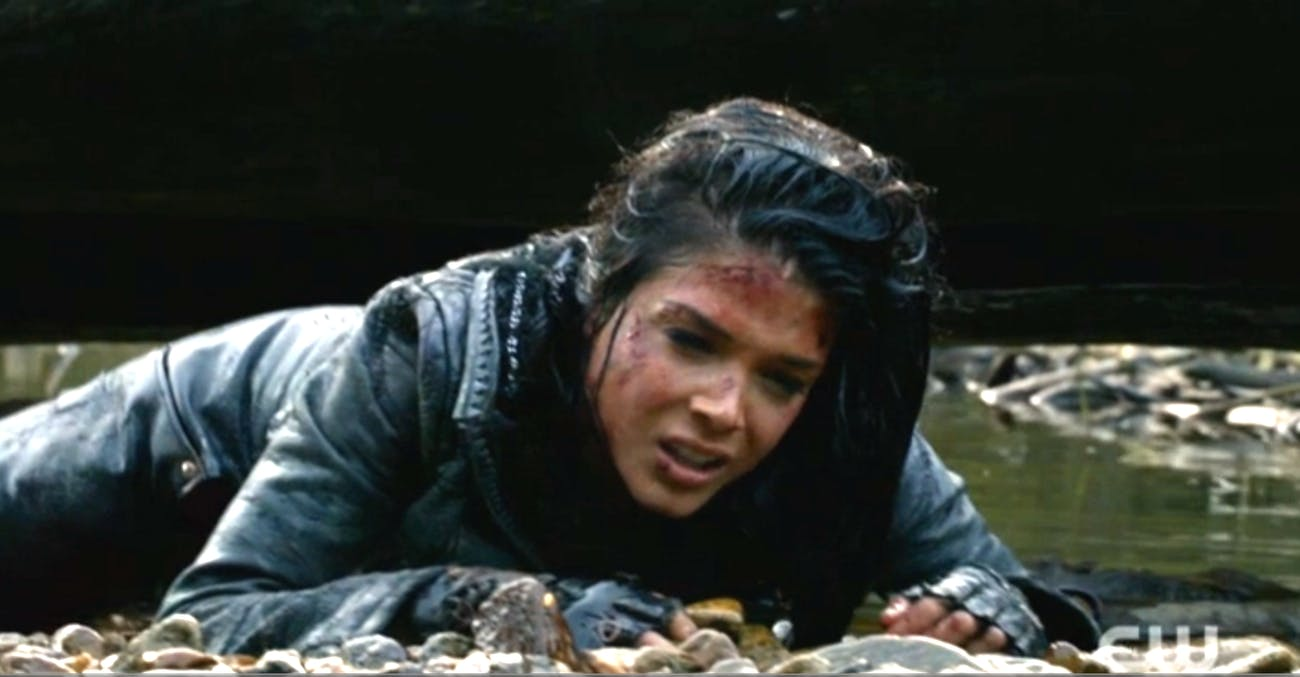 """Marie Avgeropoulos in """"The 100"""""""