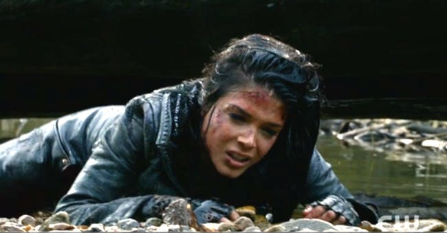 "Marie Avgeropoulos in ""The 100"""