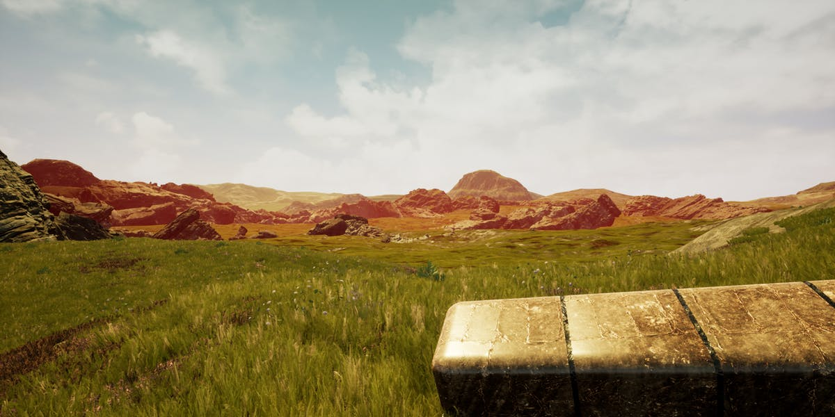 The loping fields of Dantooine.