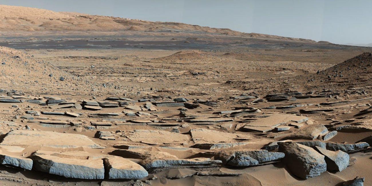 mars curiosity gale crater