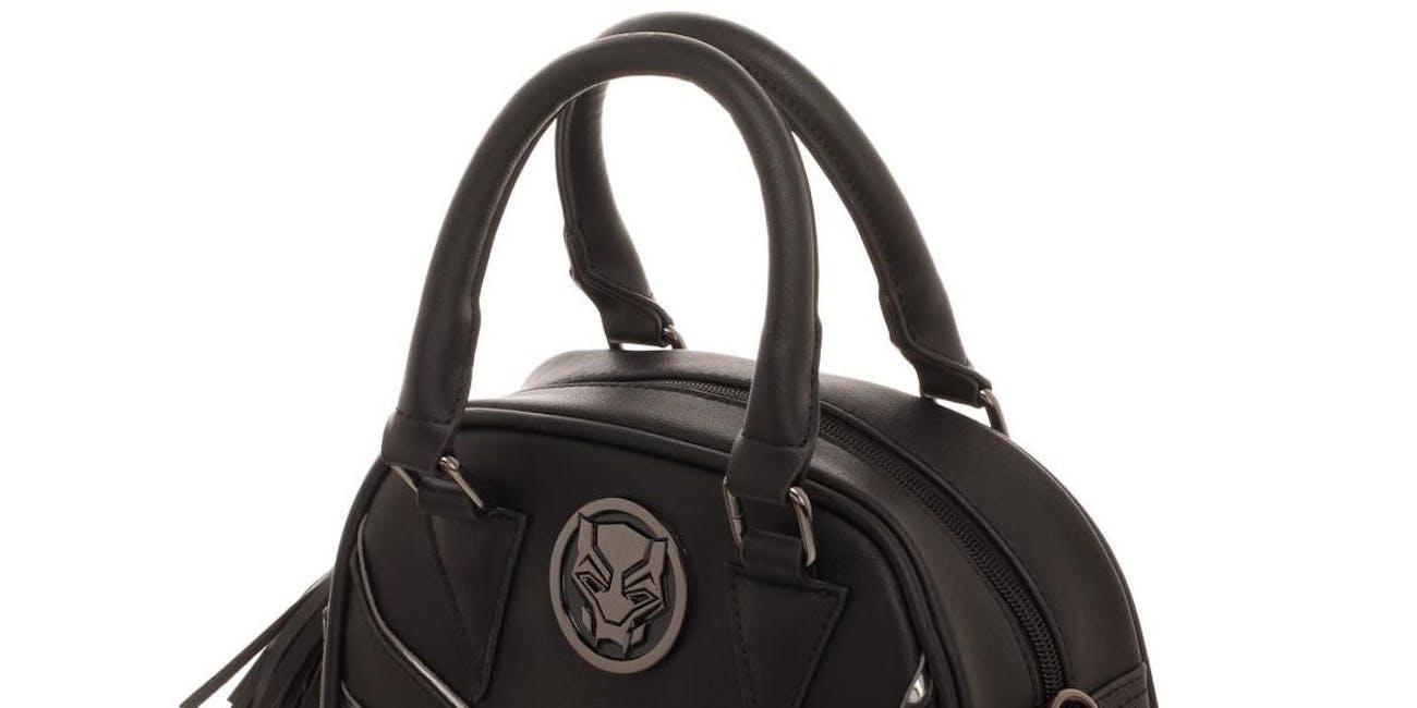 Black Panther Satchel Handbag