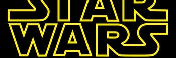 The famous 'Star Wars' logo.