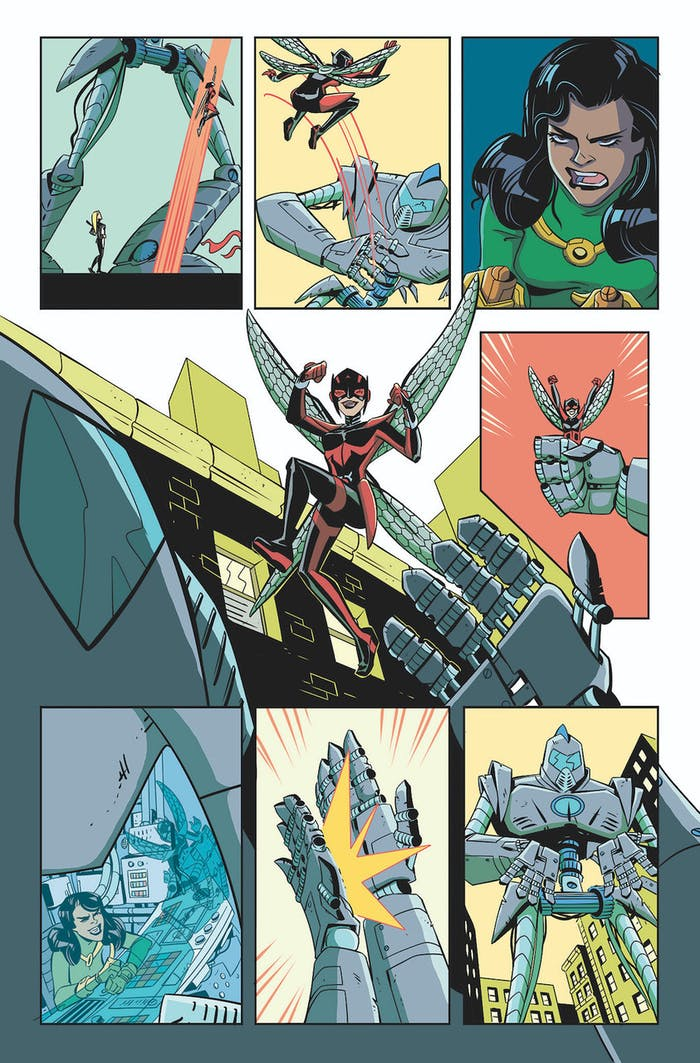 Preview for Wasp #1 for Marvel Comics
