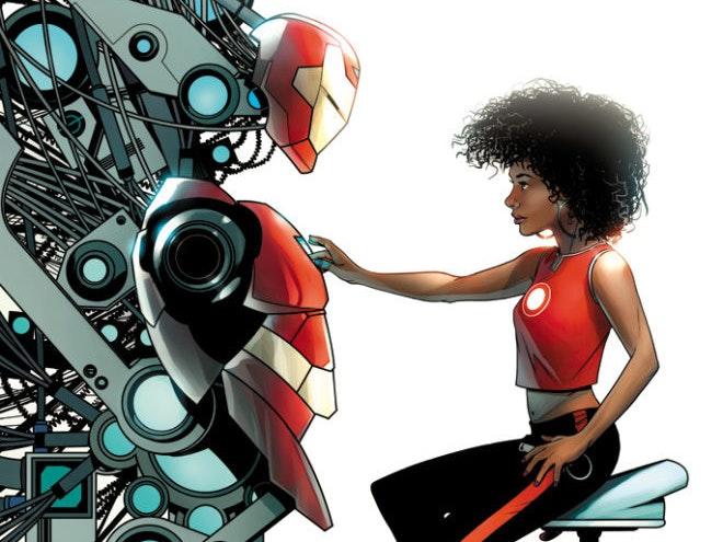 Marvel's New Female Iron Man Will Be Named Ironheart
