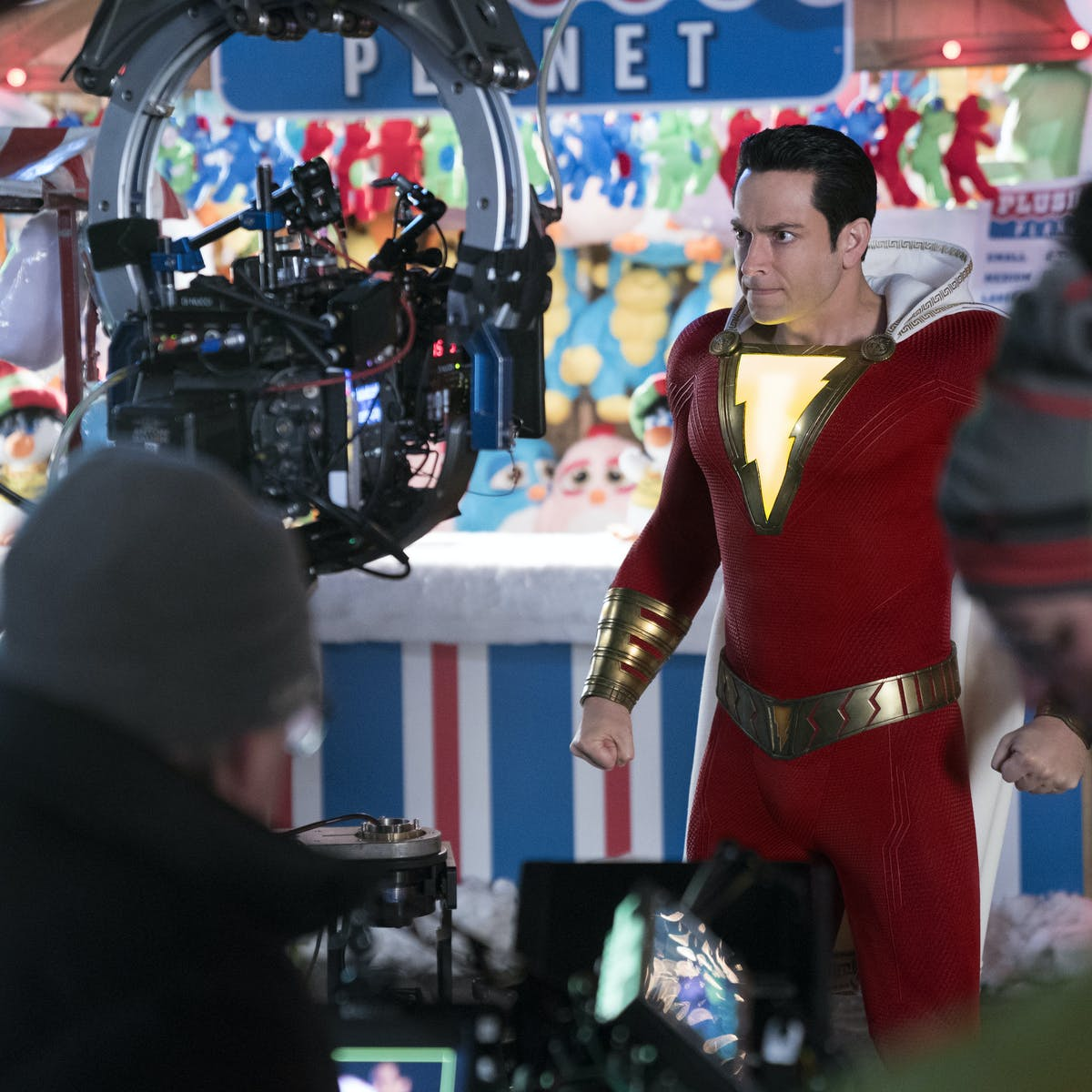 "'Shazam!' Ending Explained: Director ""Worried"" About That Surprise DC Cameo"