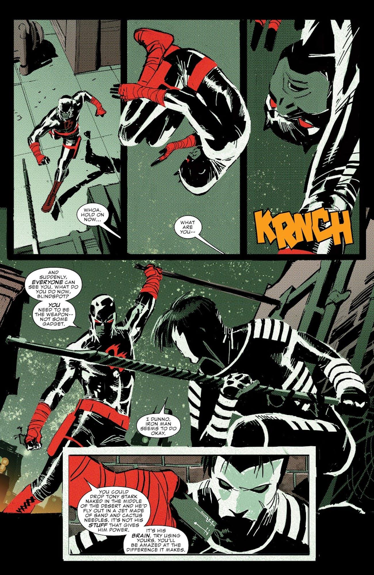 Daredevil Season 2 Blindspot