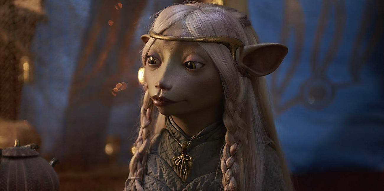 Anya Taylor-Joy as Brea in 'The Dark Crystal'