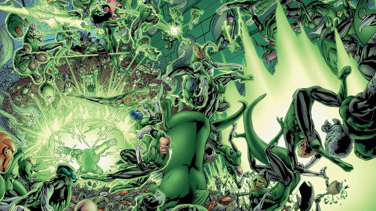 Green Lantern Corps in DC Comics