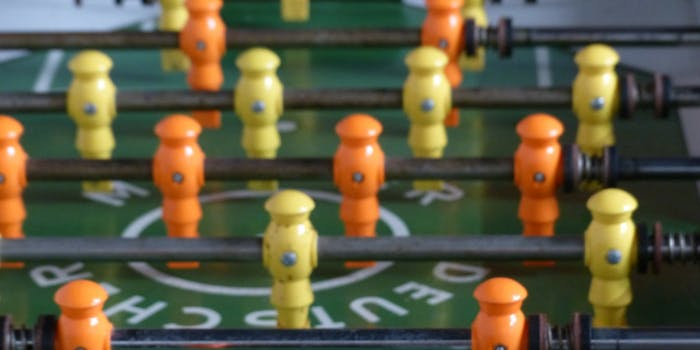 professional foosball players are actually incredibly talented