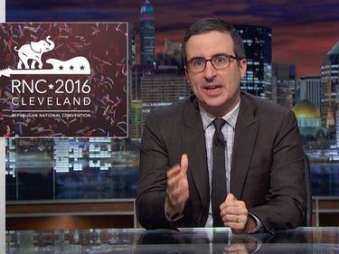"John Oliver Reviews the Republican Convention: ""Apocalyptic"""