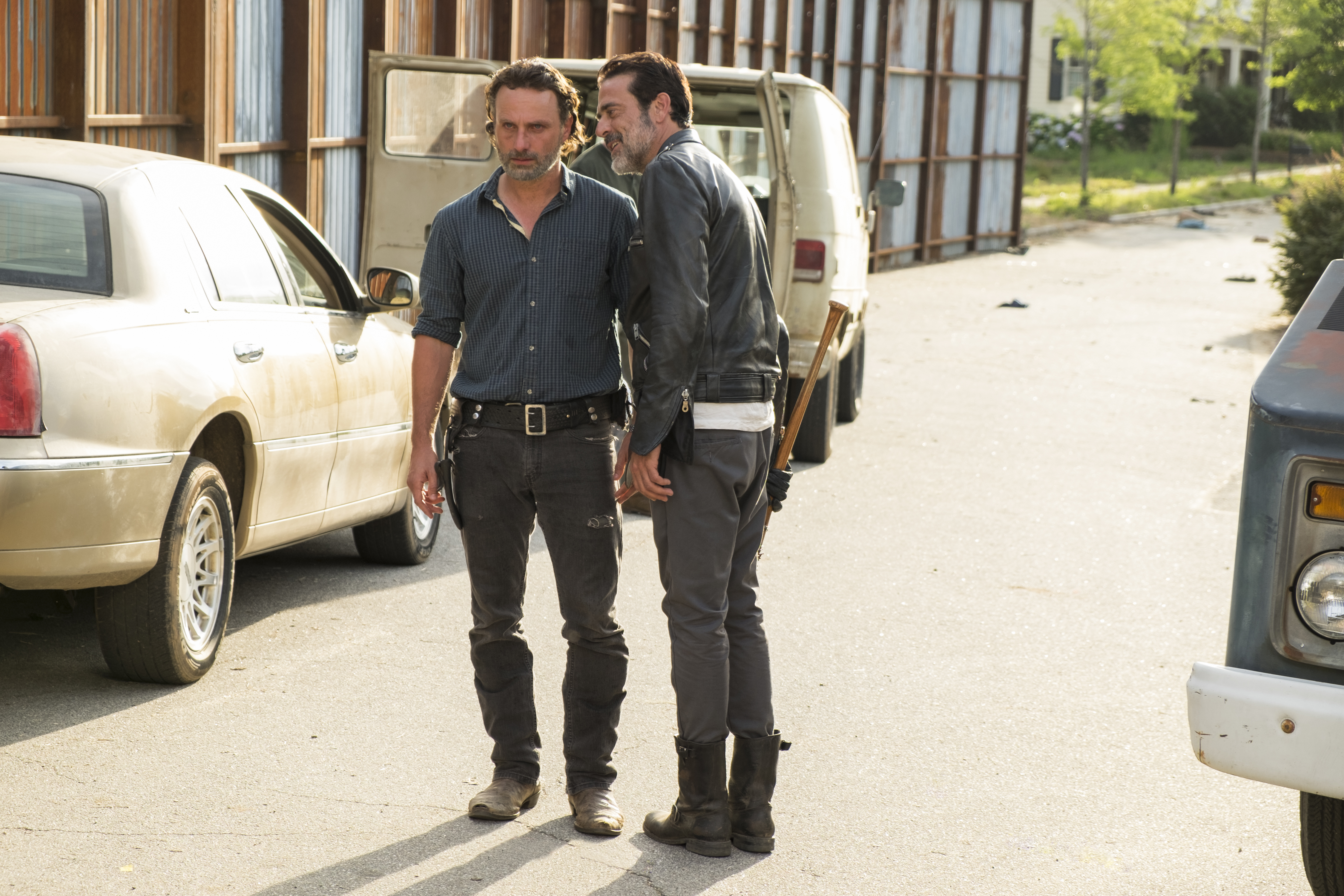 Negan creeps Rick out as often as he scares him.