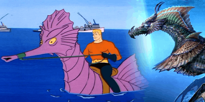 Aquaman Sea Horse Dragon