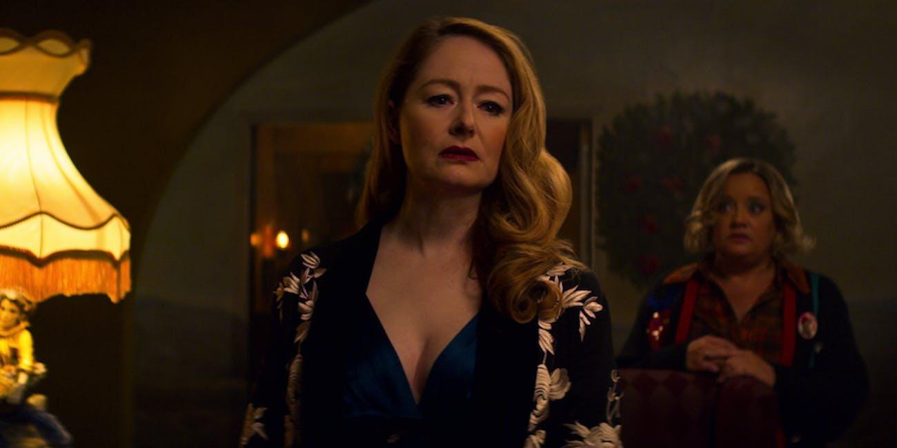 Aunt Zelda and Hilda in 'Chilling Adventures of Sabrina'.