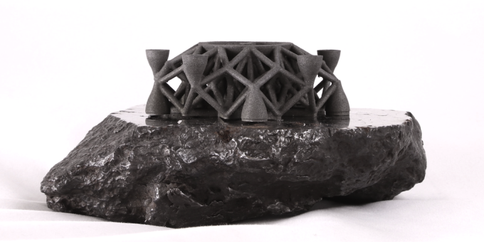 Here's the First Object Ever 3D-Printed From Asteroid Metals