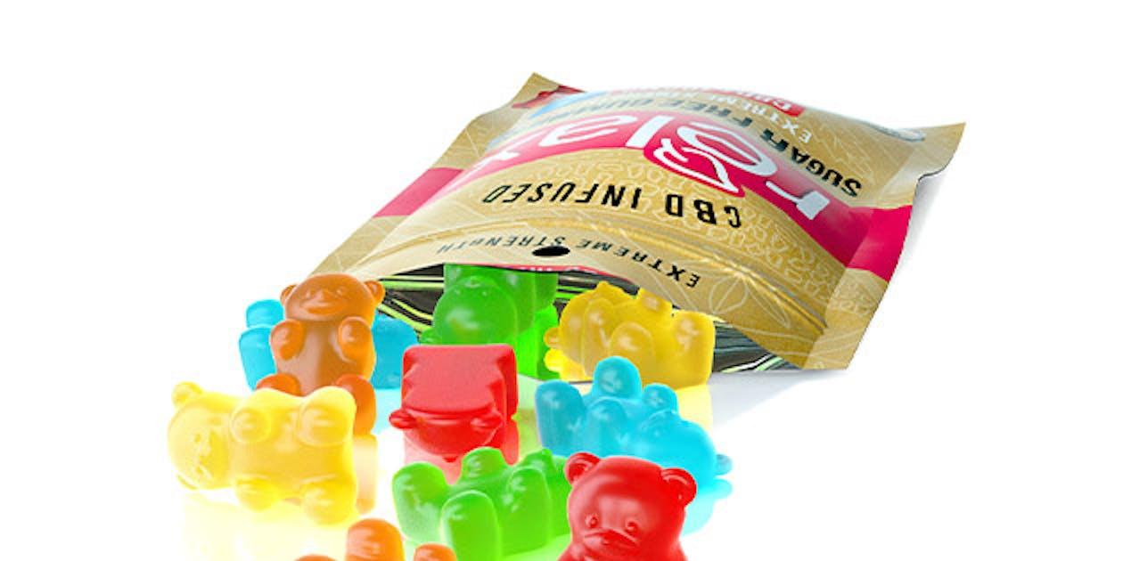 Diamond CBD-Infused Sugar-Free Sour Bears