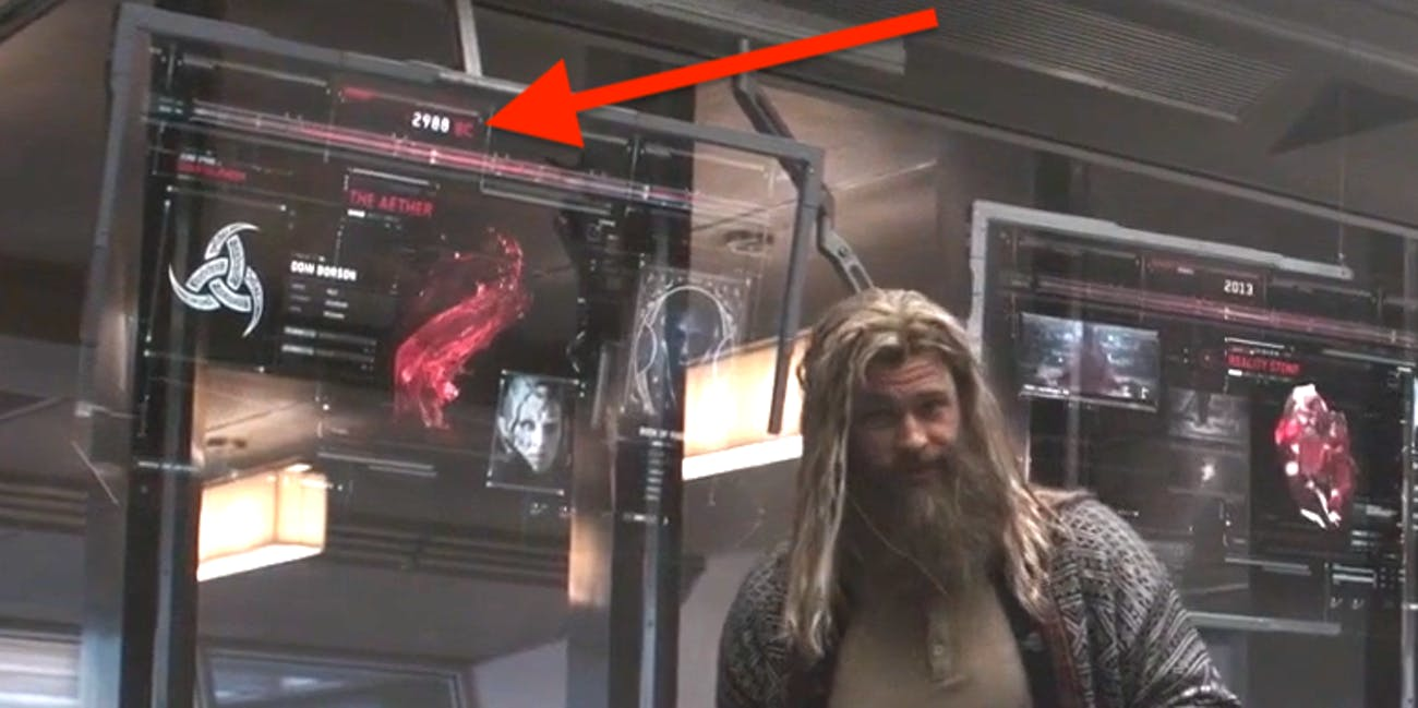 'Avengers: Endgame' Easter Egg Confirms a Huge Time Travel Theory