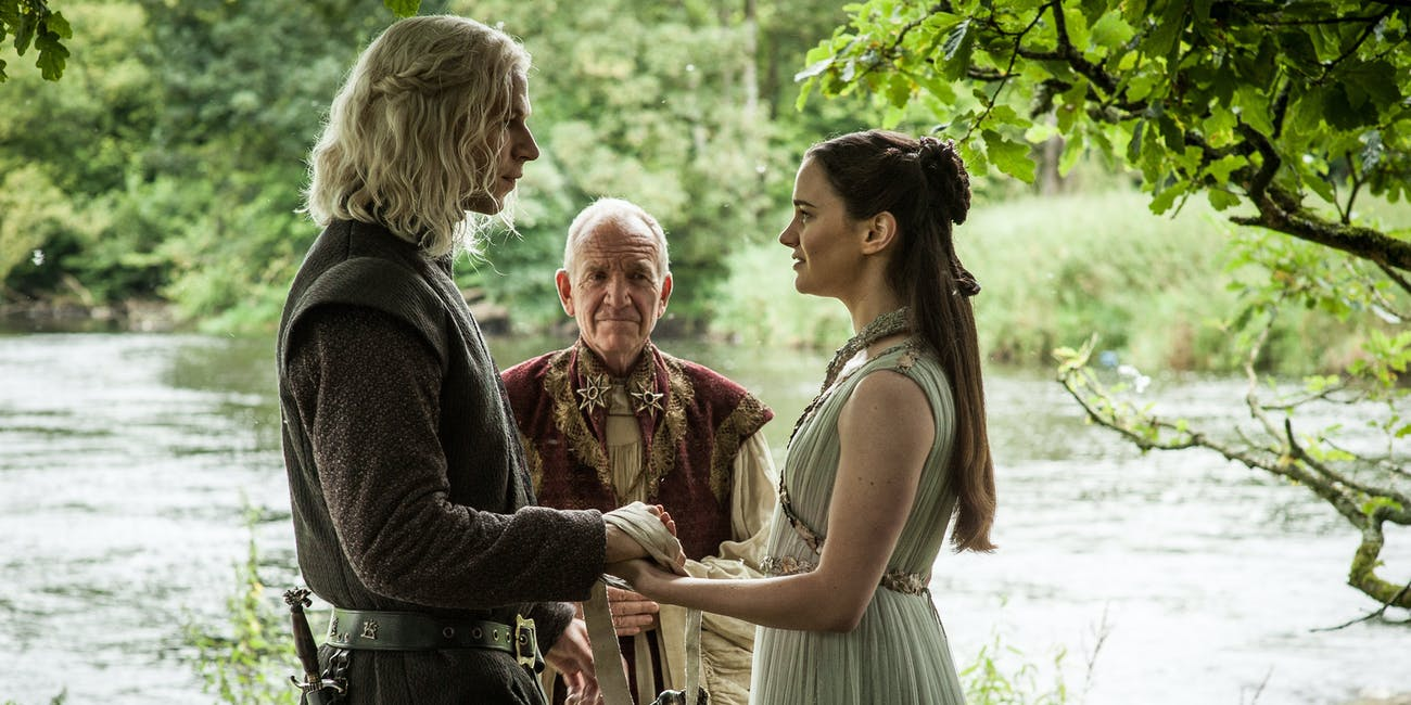Game of Thrones Rhaegar and Lyanna