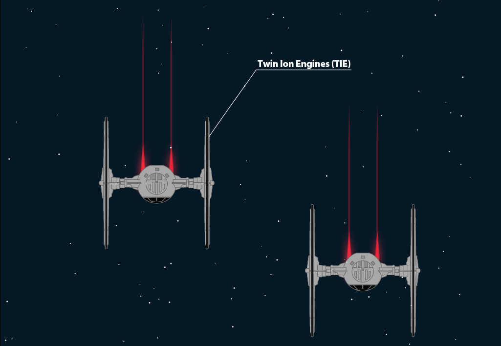 Manchaud's TIE Fighters.