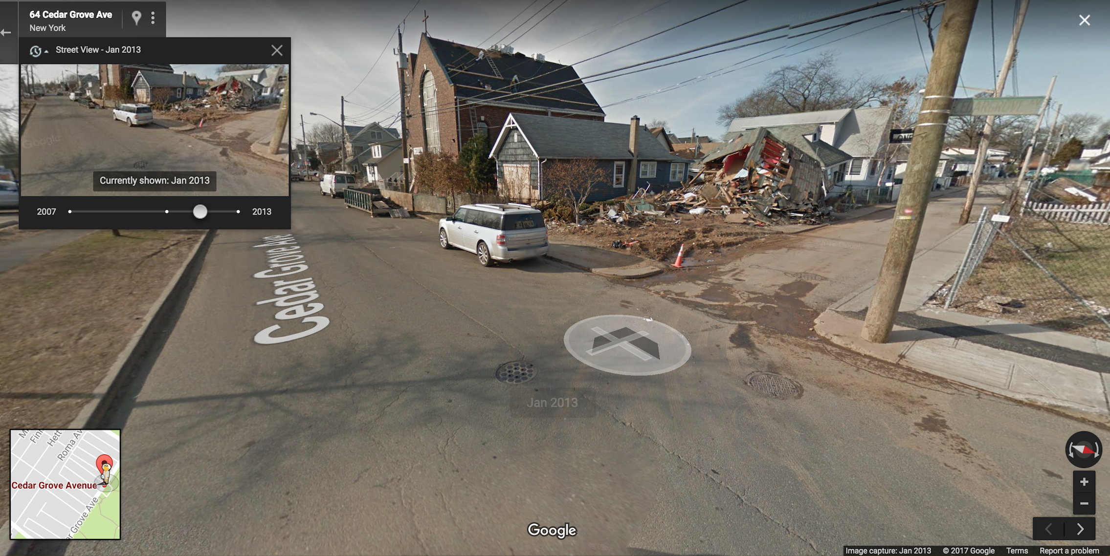 8 Wild Google Street View Images of New York City | Inverse