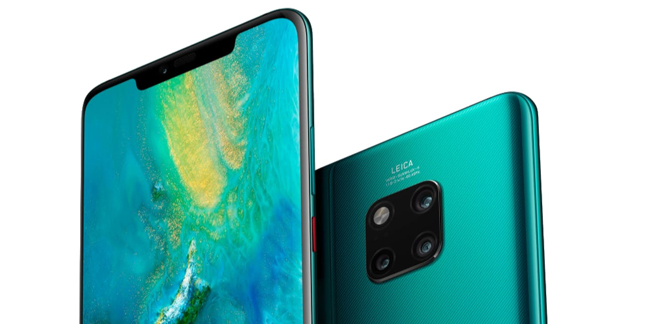 Image result for huawei mate 20 pro emerald